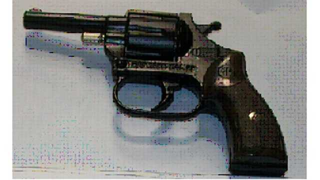 TSA officials say they found this replica handgun in a woman's bag at BWI Thurgood Marshall Airport.
