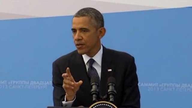 President Barack Obama at G20