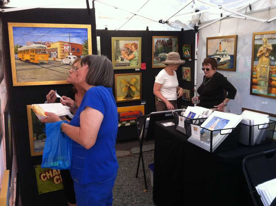 WBAL-TV 11 News photographer Tommy Culp visits theCatonsville Arts Festival and shares theses photos.