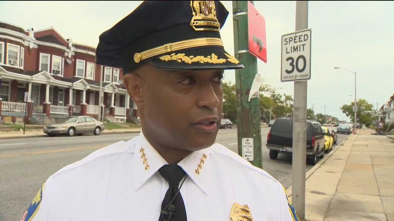 Baltimore's Police Commissioner Anthony Batts says if the city wants a lower crime rate give city officers a pay raise.