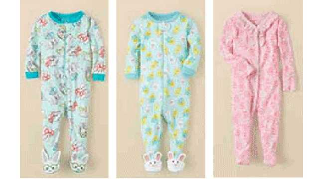 These Children's Place pajamas are subject to a recall.