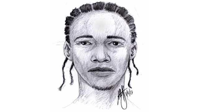 Sex offense suspect sketch