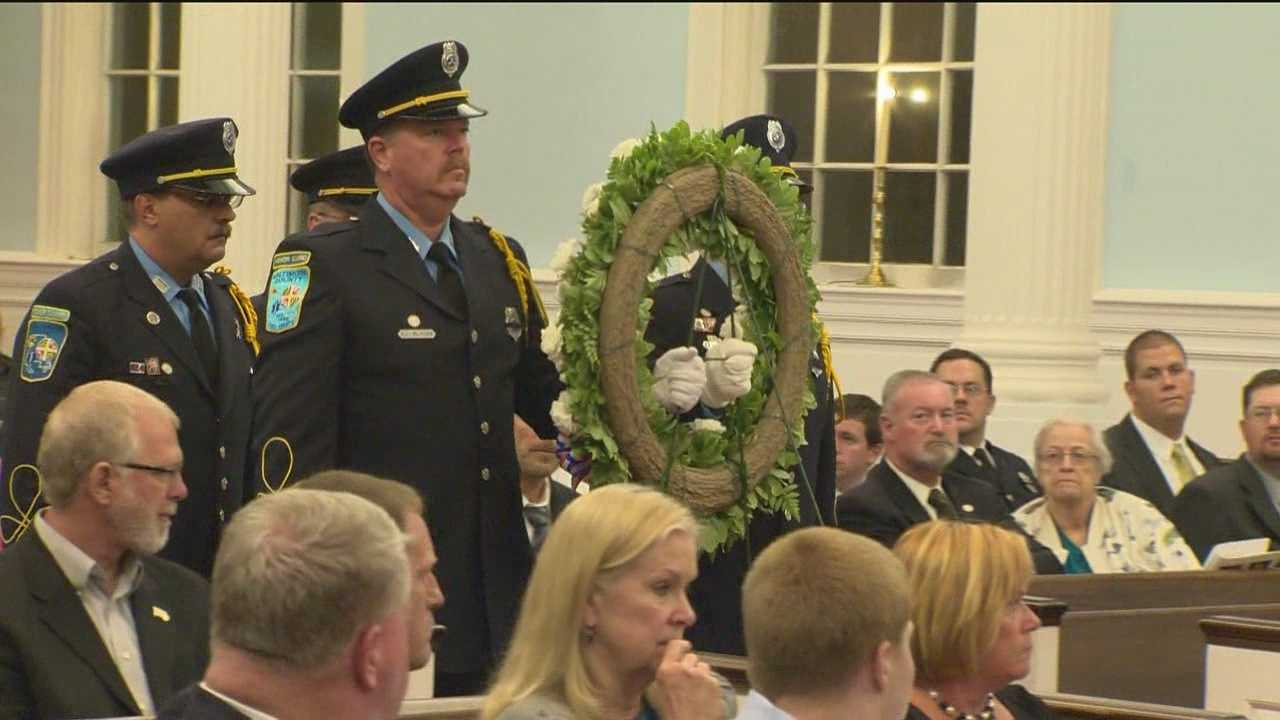 Fallen firefighters honored in Sunday ceremony