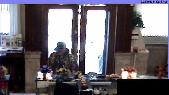 Carroll County Sheriff's Office is asking for the public's help to find a man who robbed a bank in New Windsor.
