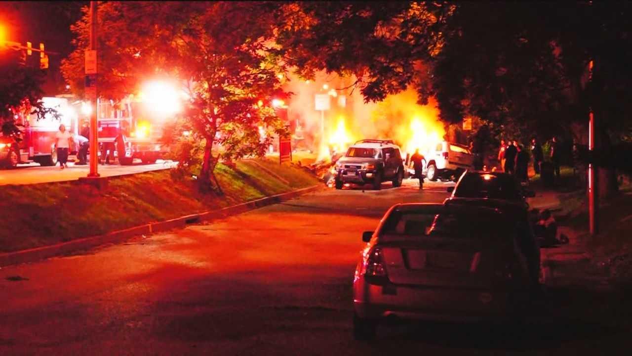 3 killed, 1 critically injured in north Baltimore crash