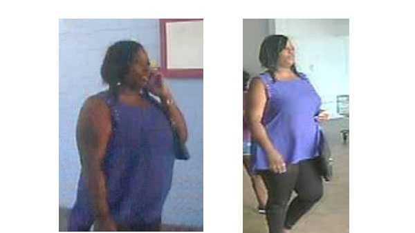 Police: Woman uses fraudulent credit cards at Walmart surveillance photo