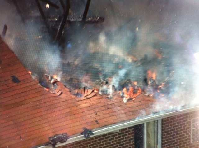 Baltimore County fire crews are at the scene of a large apartment fire in Lansdowne. Read the story here
