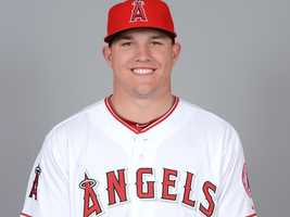 10. Mike Trout, Angels