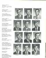 Tom Clancy's photo in the 1969 Loyola yearbook. His photo is at the top left and labeled