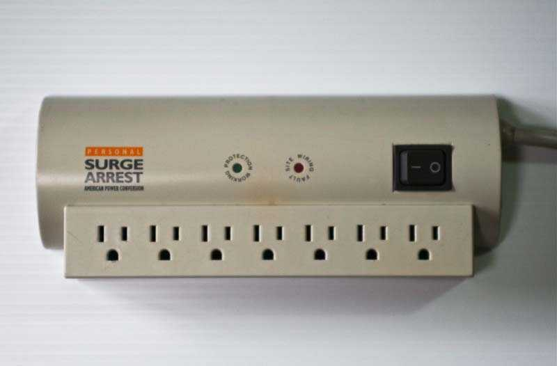 About 15 million older-model surge protectors are being recalled because of a fire hazard.
