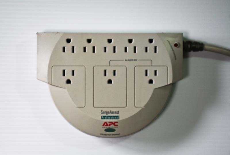 The Consumer Product Safety Commission announced Thursday that some APC SurgeArrest surge protectors can overheat, smoke and melt, posing a fire hazard.