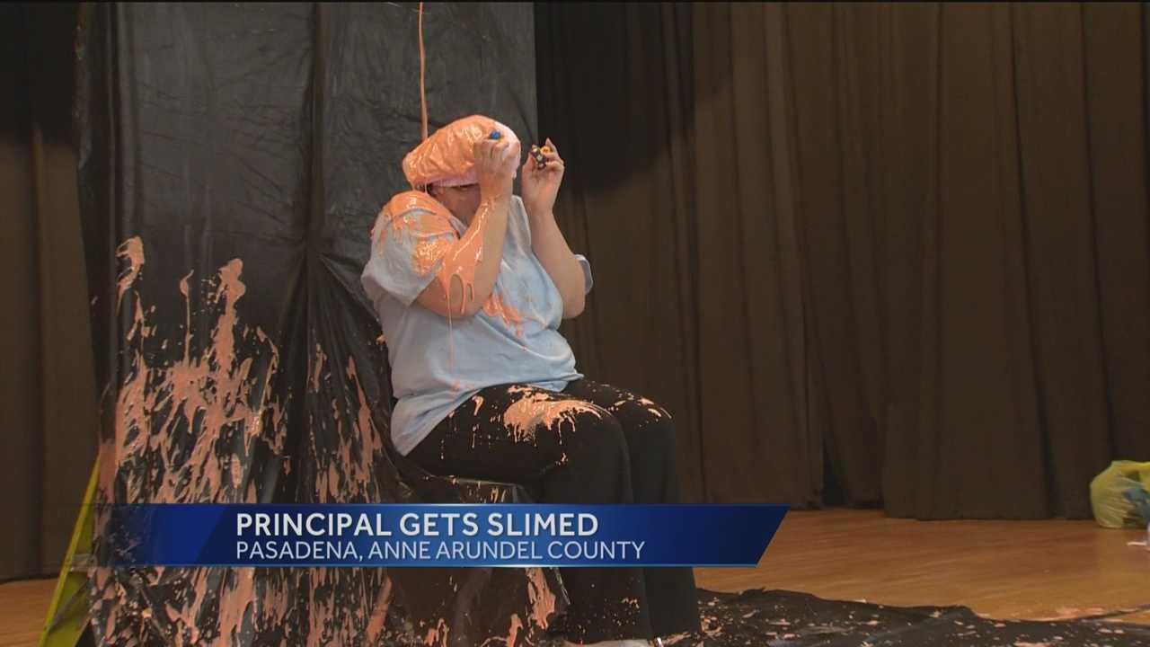 principal slimed