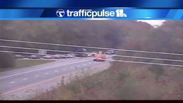 All traffic on 295 is being let off at Route 175 due to the fatal crash.