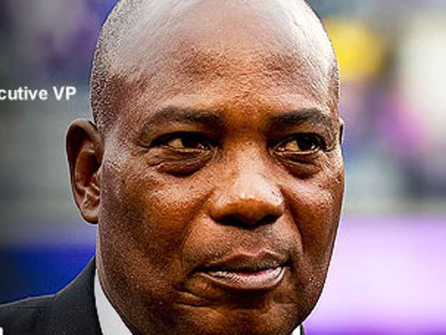 Ozzie Newsome is the Ravens' general manager.