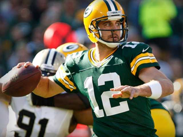Quarterback Aaron Rogers is the Packers' highest paid player. The team's average salary is $18.6 million.