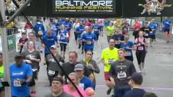 Thousands of runners took to the streets of Baltimore on Saturday as the 2013 Baltimore Running Festival kicked off.