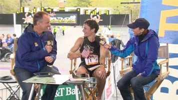 Berdan talks about the big win with 11 News' Gerry Sandusky and Kate Amara.