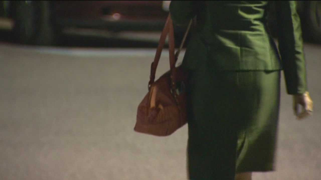 Thieves are targeting women, mostly at child-care facilities, stealing purses from their cars.