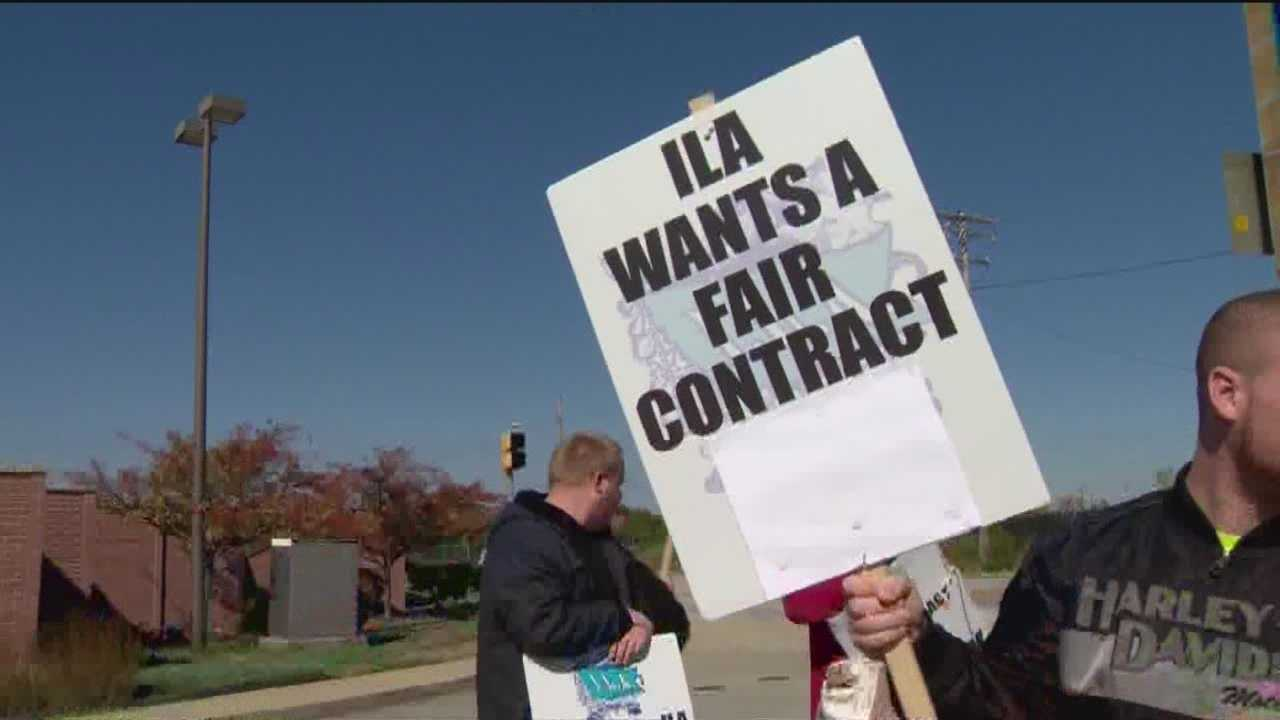 While some ILA workers returned to the job at the Port of Baltimore, others continue strike disputing parts of a local contract.