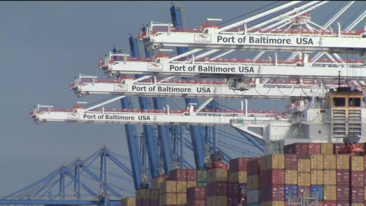 Port strike effect ripples across Maryland