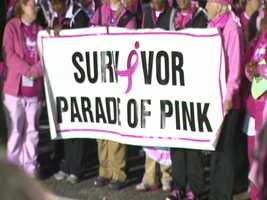 More than 20,000 people joined the race, which raises money for local programs that offer a range of breast health services from screening and treatment to support services.