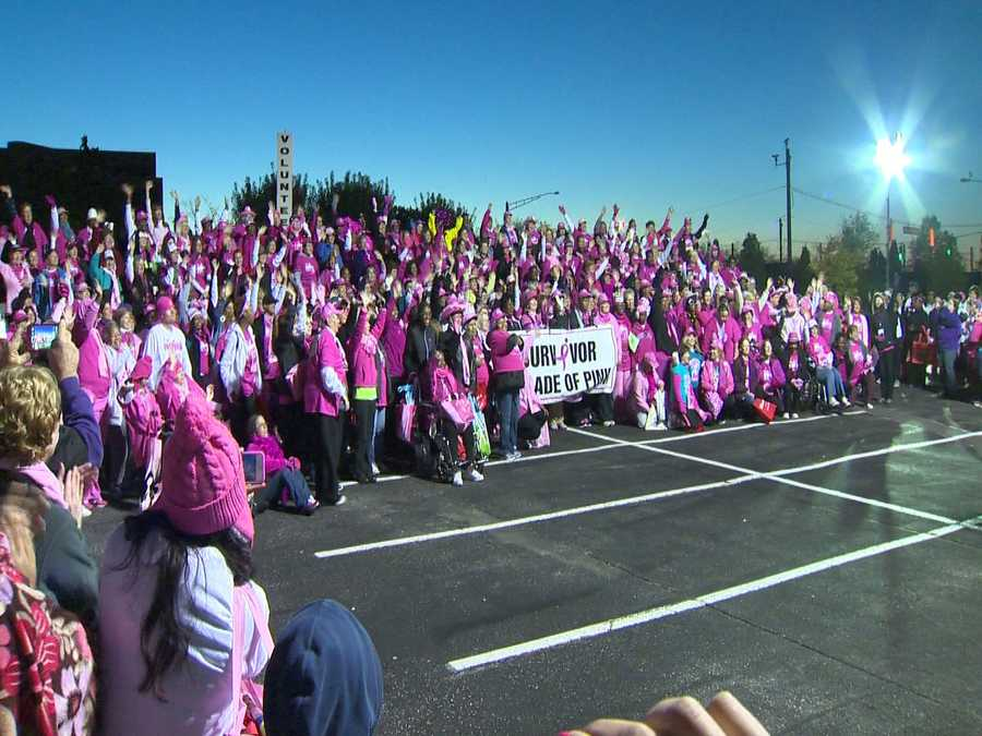 There was a sea of pink in Hunt Valley on Sunday for the annual Komen Maryland Race for the Cure.