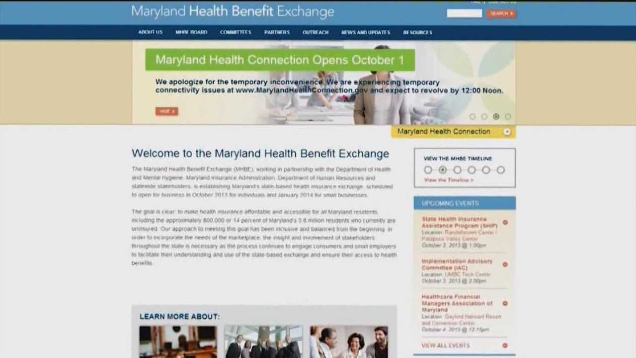 Maryland's health care website still working out glitches