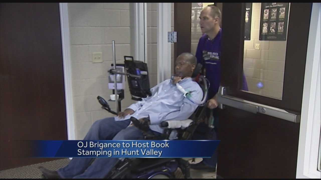 O.J. Brigance's new book gives an eye-opening narrative about the challenges he faces every day and how he's able to pull through.