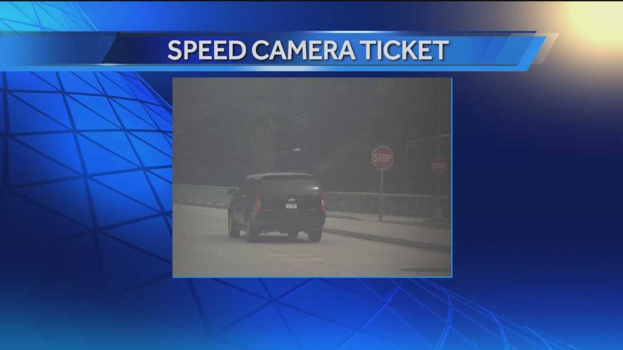 Speed camera ticket contradicts Gansler's driving claim