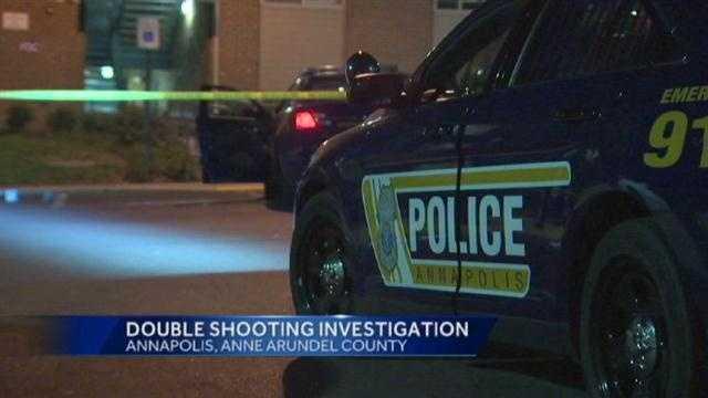 Annapolis double shooting