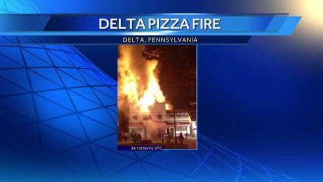 Delta Pizza fire1