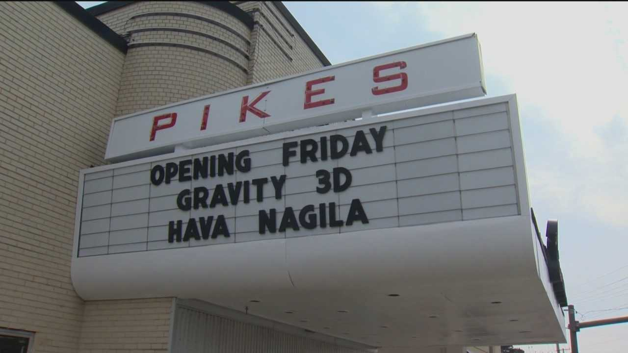The Pikes Theatre has two 75-seat stadium-style theaters with large silver screens for showing 3D movies. The theater, returning after a 30-year hiatus, will join the Pikes Cinema Bar and Grille in a classic art deco building on Reisterstown Road at Sherwood Avenue.