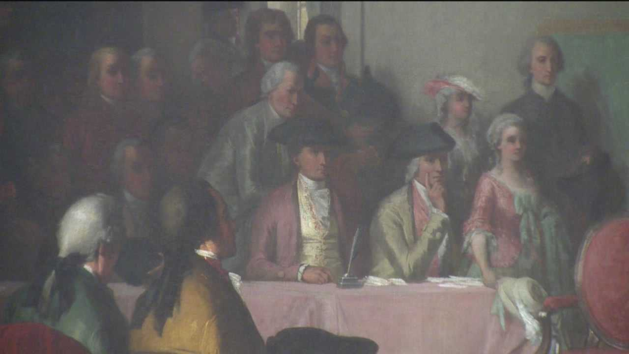 George Washington painting to be restored