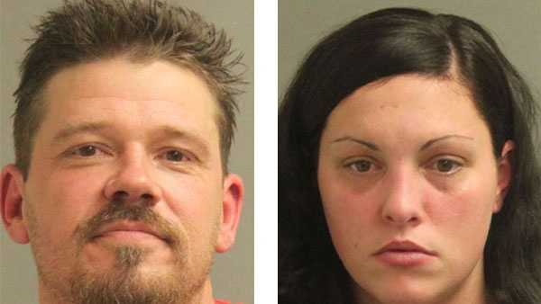 Dennis Charles Asmussen (left), Heather Nicole Sewell-Hutson (right)