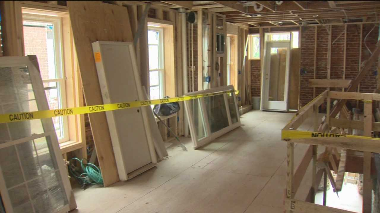 Baltimore City is offering incentives for city homebuyers, and throughout the city, vacant homes are being rehabilitated and families are moving in.