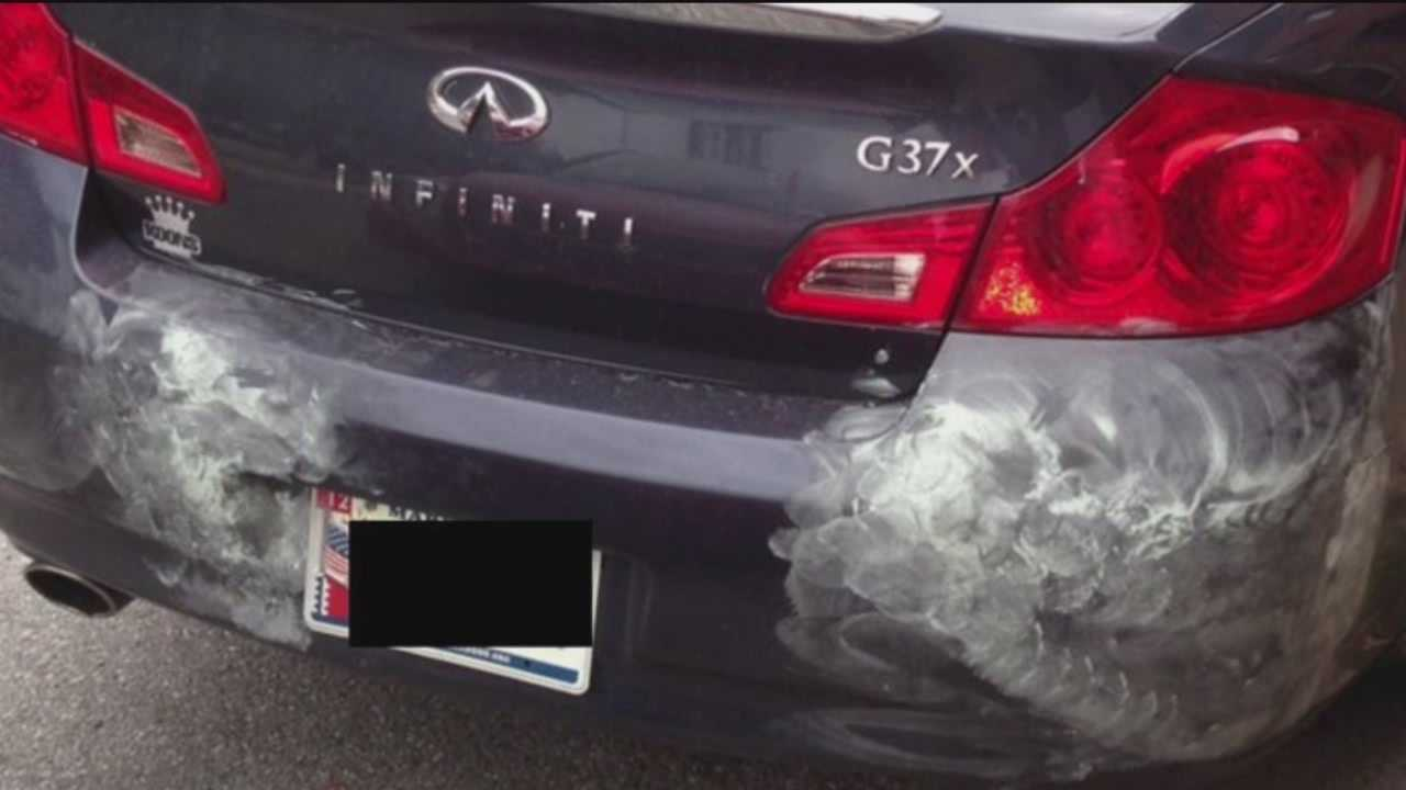 Damage a car repair scammer caused in the Canton area