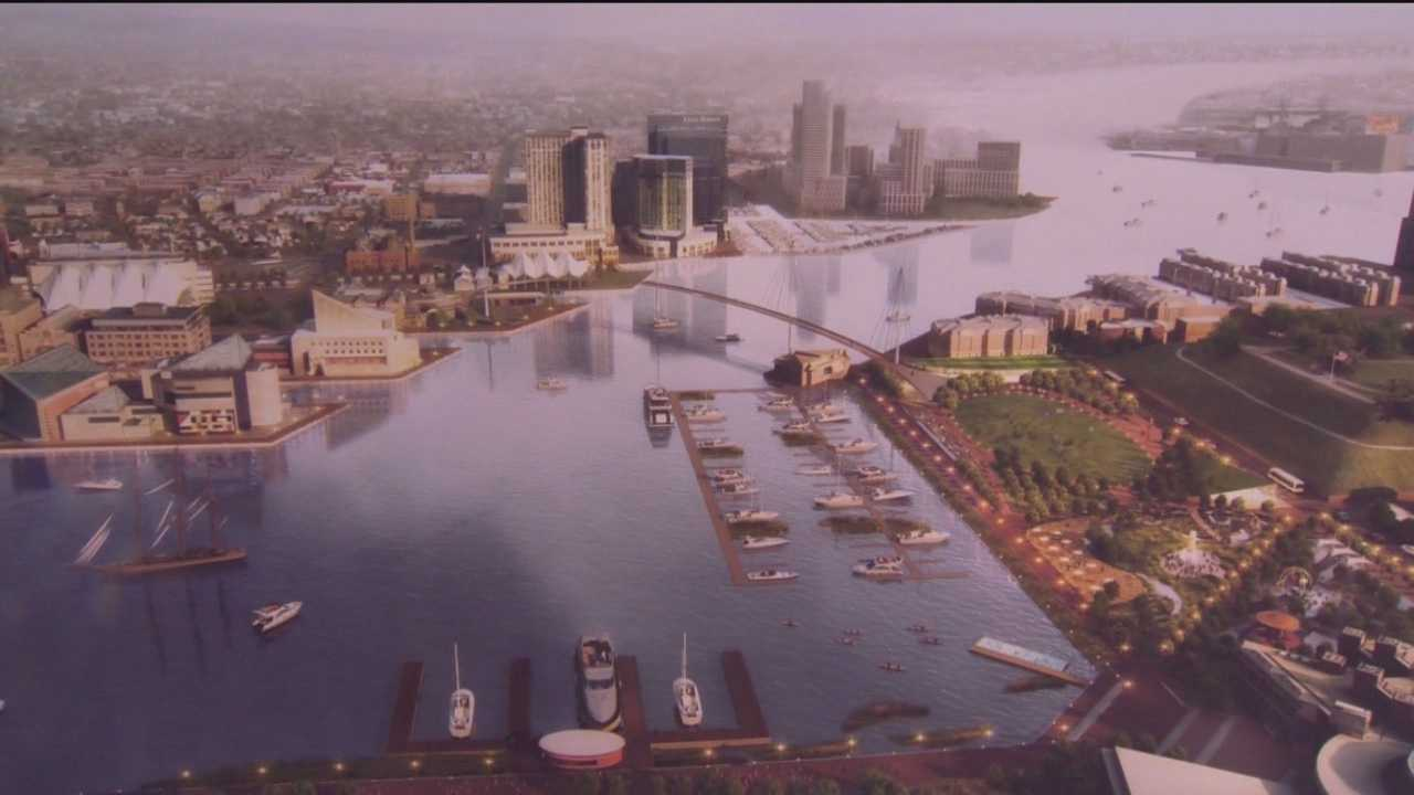 Inner Harbor 2.0 was introduced during a news conference held on Thursday.