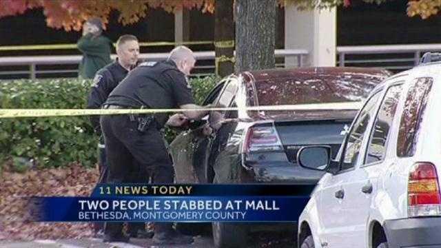 stabbing scene
