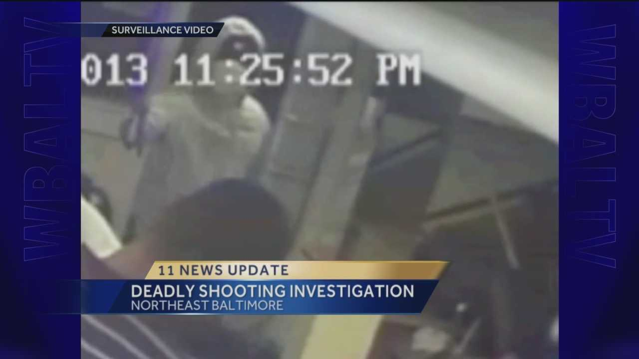 Frankford Avenue shooting surveillance