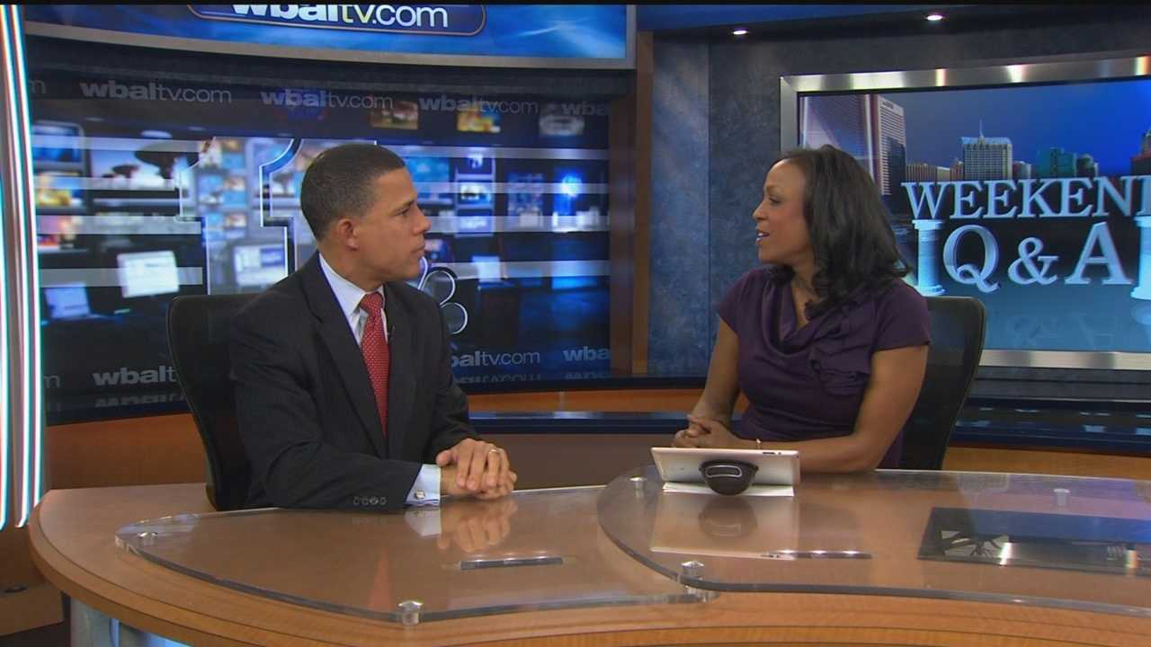 Lt. Gov. Anthony Brown goes on the record to say he's not going negative with his campaign.