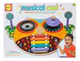 Preschoolers at Goddard Schools in Maryland conduct a Toy Test and come up with the top 10 best preschooler-approved toys for the year. The school says the selections are intended to promote creativity and encourage playful learning.This is the Musical Owl by ALEX Toys LLC (Suggested Age Range: 18+ Months)