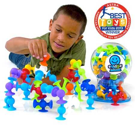 Squigz: Fun Little Suckers by Fat Brain Toys (Suggested Age Range: 3+ Years)