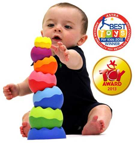 Tobbles Neo by Fat Brain Toys (Suggested Age Range: 6+ Months)