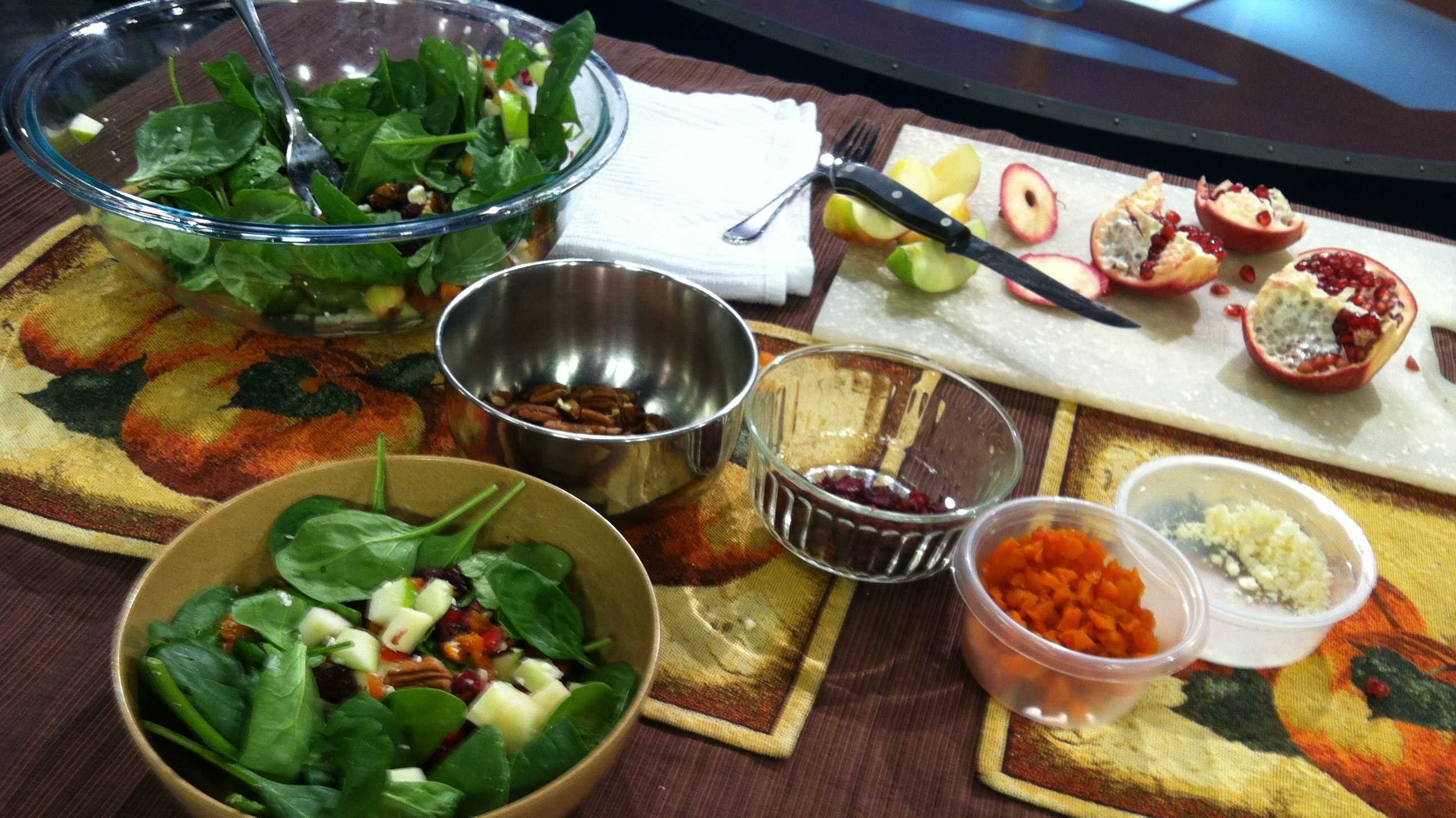 Ava's holiday salad
