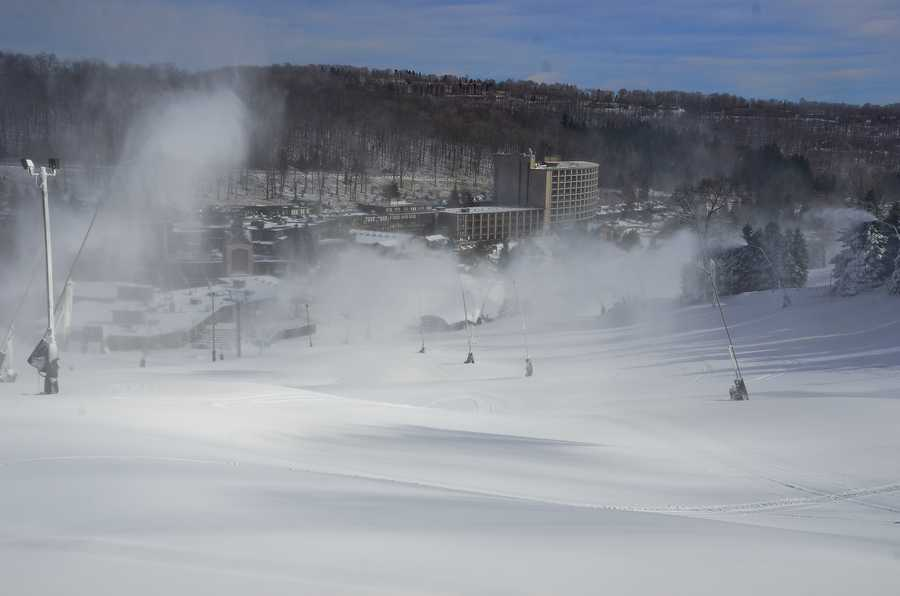 Seven Springs and Hidden Valley will be open 9 a.m. to 5 p.m., Friday through Sunday.