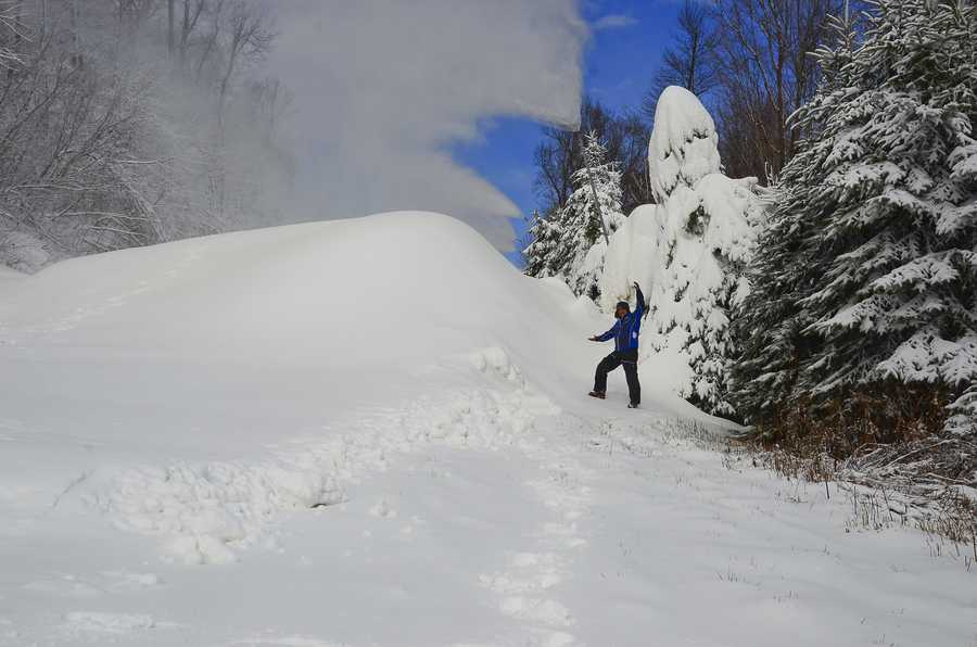 Hidden Valley ski and snowboard tickets will be $28 per adult and $25 per child ages 6 to 11 and will be valid 9 a.m. to 5 p.m. Midweek season passes will also be valid this weekend.