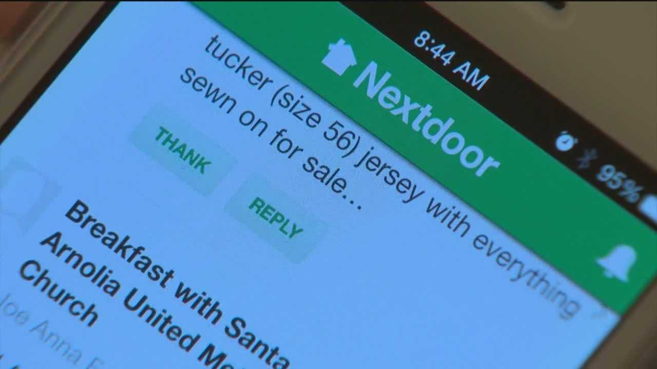 The Next Door website and app is becoming more popular in communities in the Baltimore area and is a way to help people connect with their neighbors.