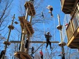 "Terrapin AdventuresSavage Mill8600 Foundry StreetSavage, MD 20763301.725.1313www.TerrapinAdventures.comTerrapin Adventures has a special holiday offering involving its ""Schools Out"" Family Adventure. Buy 3 Terrapin Challenges and get the 4th free. Call 301-725-1313 for promotional code. Terrapin Challenge is the value package where guests get 4 hours to spend on the zip line, high ropes challenge course, climbing tower and giant swing. Deal available only for these dates: Nov 29, 30, Dec 1, 23, 24, 26, 27, 28, 29, 30, 31."