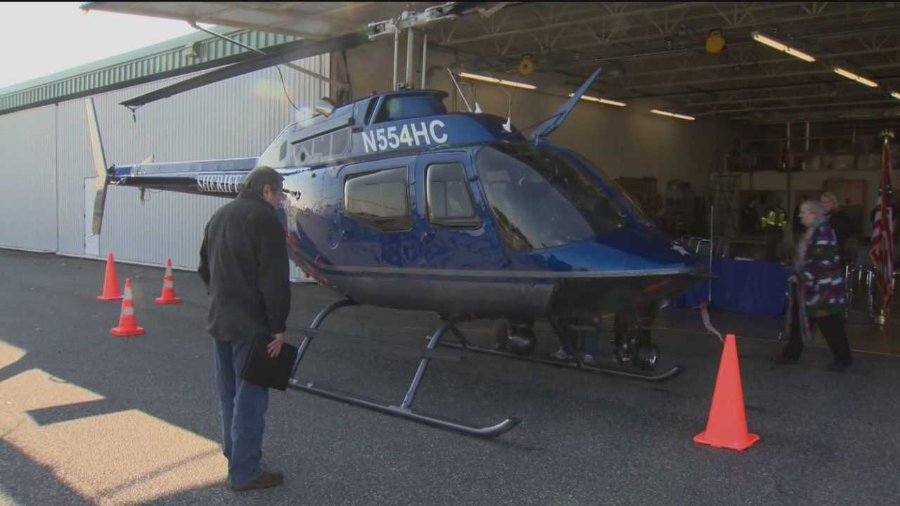 Harford County has joined other jurisdictions in the state by adding a helicopter to its police force.