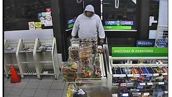 Authorities are asking for the public to help find a man who robbed a 7-Eleven store in Severn.